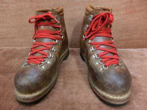 安藤製靴 ブーツ 登山靴 トレッキングシューズ サイズ27